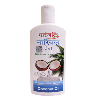 PATANJALI COCONUT OIL 200ML