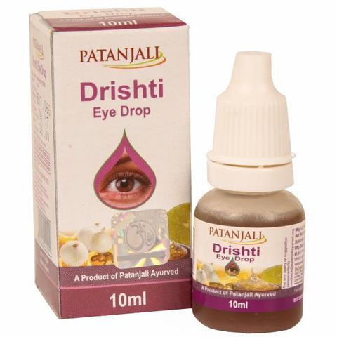 PATANJALI DRISHTI EYE DROP 10ML
