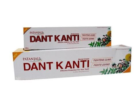 PATANJALI DANT KANTI NATURAL TOOTH PASTE 100GM
