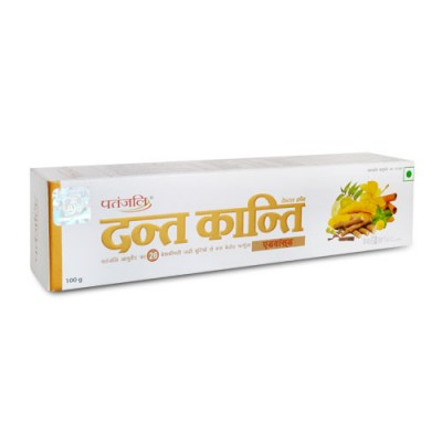 PATANJALI DANT KANTI ADVANCE TOOTH PASTE 100GM